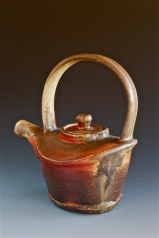 Oval teapot