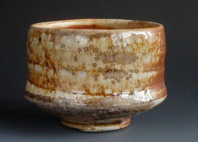 Bowl with natural ash glaze